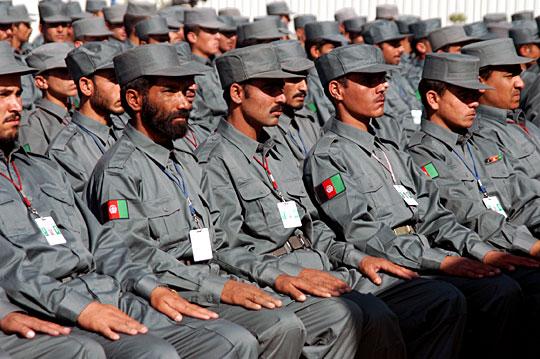 The Afghan National Police Force is increasing support for the Taliban