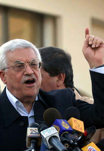 Thanks to Mahmoud Abbas' change in behavior, President Obama's mission to bring peace is all but over