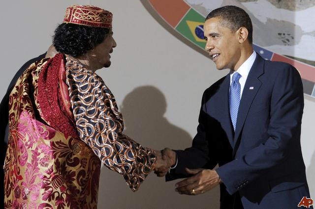 Is the United States looking for a better relationship with Muammar Kaddafi's Libya?